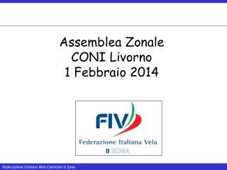 Assemblea Zonale CONI Livorno  1 Febbraio 2014