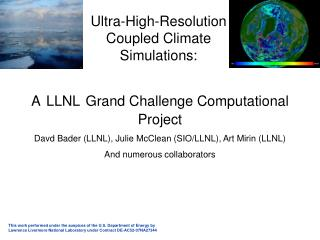 Ultra-High-Resolution Coupled Climate Simulations:
