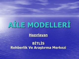 AİLE MODELLERİ