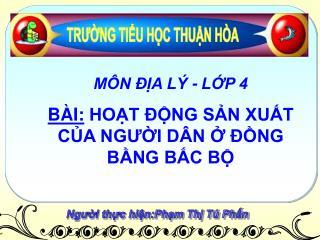 Người thực hiện:Phạm Thị Tú Phấn
