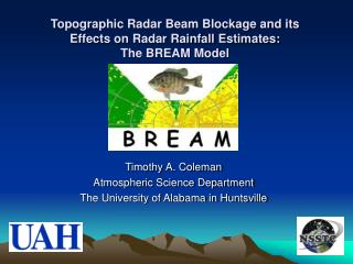 Topographic Radar Beam Blockage and its  Effects on Radar Rainfall Estimates:  The BREAM Model
