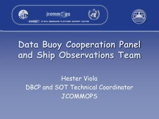Data Buoy Cooperation Panel and Ship Observations Team