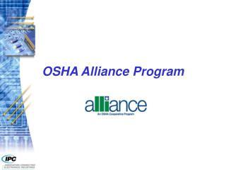 OSHA Alliance Program