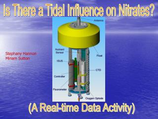 Is There a Tidal Influence on Nitrates?