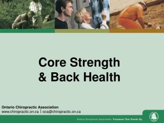 Core Strength & Back Health