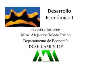 Desarrollo Económico I