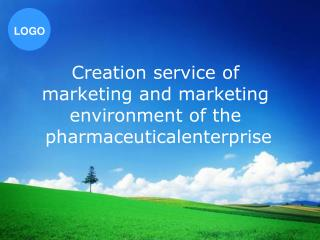 Creation service of  marketing and marketing  environment of the  pharmaceuticalenterprise