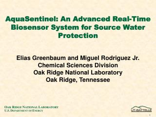 AquaSentinel: An Advanced Real-Time Biosensor System for Source Water Protection