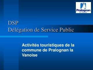 DSP   D l gation de Service Public