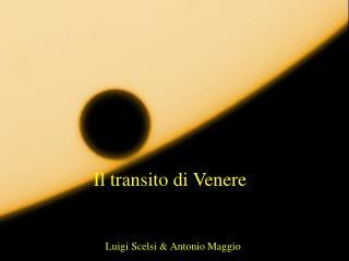 Il transito di Venere