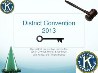 District Convention 2013