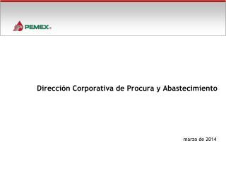 Direcci�n Corporativa de Procura y Abastecimiento