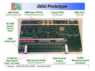 DDU Prototype