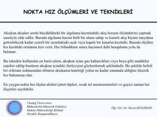 Öğr. Gör. Dr. Mesut ŞENGİRGİN