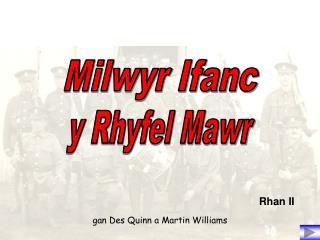 gan Des Quinn a Martin Williams