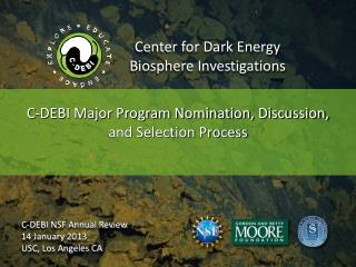 Center for Dark Energy  Biosphere Investigations