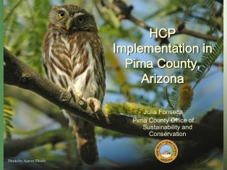 HCP  I mplementation in Pima County, Arizona
