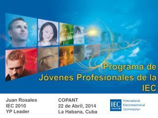 Programa de  Jóvenes Profesionales de la  IEC