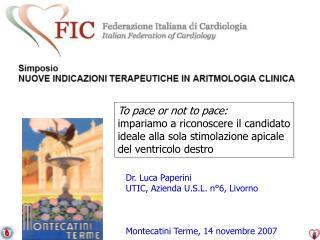 Montecatini Terme, 14 novembre 2007