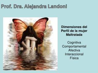 Dimensiones del Perfil de la mujer Maltratada Cognitiva Comportamental Afectiva Interaccional