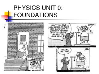 PHYSICS UNIT 0: FOUNDATIONS