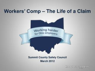 Workers' Comp – The Life of a Claim