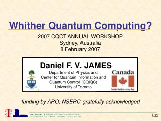 Whither Quantum Computing?