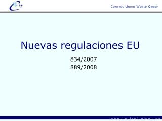 Nuevas regulaciones EU