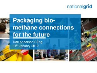 Packaging bio-methane connections for the future