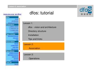dfos: tutorial