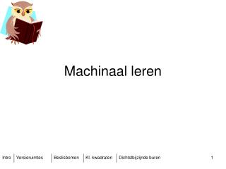 Machinaal leren