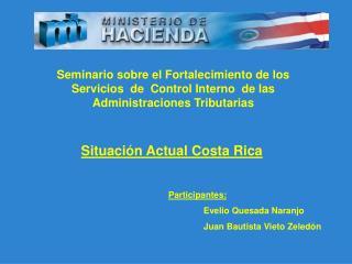 Situación Actual Costa Rica