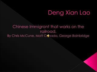 Deng Xian Lao