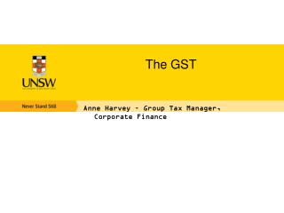 The GST