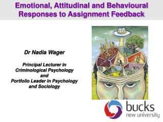 Dr Nadia Wager Principal Lecturer in Criminological Psychology  and