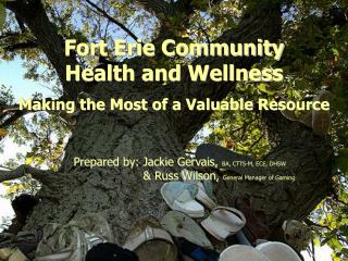 Fort Erie Community  Health and Wellness