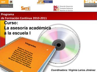 Programa  de Formaci�n Continua 2010-2011