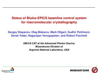 Status of BluIce-EPICS beamline control system for macromolecular crystallography