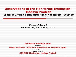 Madhya Pradesh Institute of Social Science Research, Ujjain