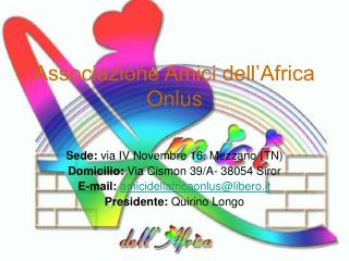 Associazione Amici dell'Africa Onlus