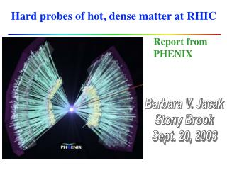 Hard probes of hot, dense matter at RHIC