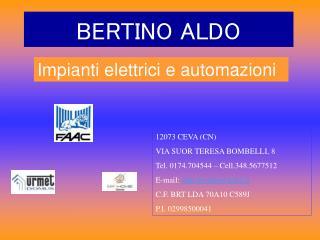 BERTINO ALDO