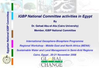 Egyptian National IGBP Committee