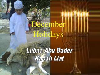 Lubna Abu Bader Kapah Liat