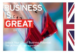 Unlock Your Global Business Potential: The UK Point of Care opportunity