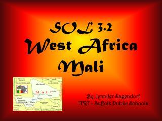 SOL 3.2 West Africa Mali