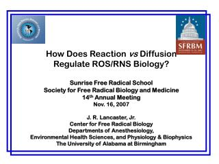 How Does Reaction vs Diffusion  Regulate ROS