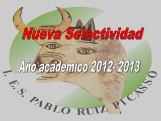 Año académico 2012- 2013
