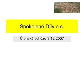Spokojené Díly o.s.