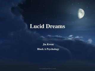 Lucid Dreams